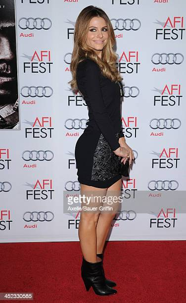 Personality Maria Menounos attends the screening of 'Lone Survivor' at AFI FEST 2013 at the TCL Chinese Theatre on November 12 2013 in Hollywood...