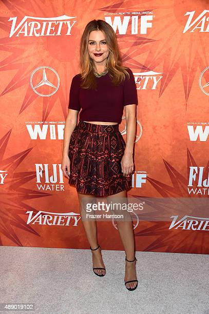TV personality Maria Menounos attends the Variety and Women in Film Annual PreEmmy Celebration at Gracias Madre on September 18 2015 in West...