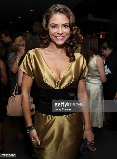 WEST HOLLYWOOD CALIFORNIA OCTOBER 07 TV personality Maria Menounos inside Movieline's Hollywood Life Style Awards at the Pacific Design Center on...