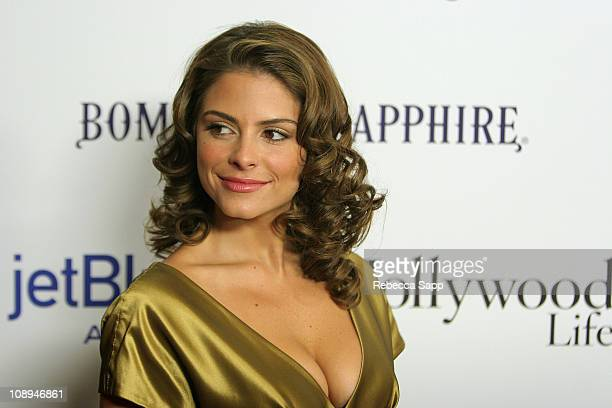 TV personality Maria Menounos Movieline's Hollywood Life Style Awards sponsored by Bombay Sapphire at the Pacific Design Center on October 7 2007 in...