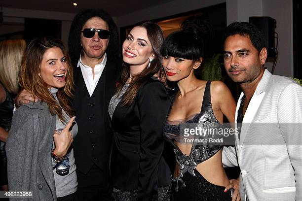 TV personality Maria Menounos musician Gene Simmons TV personality Sophie Simmons actress Bai Ling and Rohan Oza attend the Children MatterNGO first...