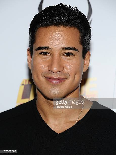 TV personality Mario Lopez attends Day 2 of Oakley Learn to Ride Powered by ATT and the League of Super Fast Things on January 21 2012 in Park City...