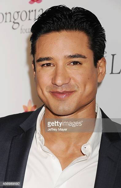 TV personality Mario Lopez attends Eva Longoria's Foundation dinner at Beso on October 9 2014 in Hollywood California