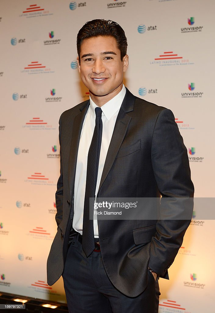 TV personality Mario Lopez attends Latino Inaugural 2013: In Performance at Kennedy Center at The Kennedy Center on January 20, 2013 in Washington, DC.