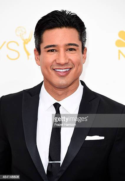 TV personality Mario Lopez attends the 66th Annual Primetime Emmy Awards held at Nokia Theatre LA Live on August 25 2014 in Los Angeles California