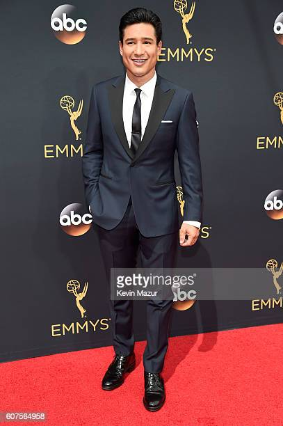 TV personality Mario Lopez attends the 68th Annual Primetime Emmy Awards at Microsoft Theater on September 18 2016 in Los Angeles California