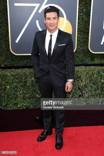 Personality Mario Lopez attends The 75th Annual Golden Globe Awards at The Beverly Hilton Hotel on January 7 2018 in Beverly Hills California