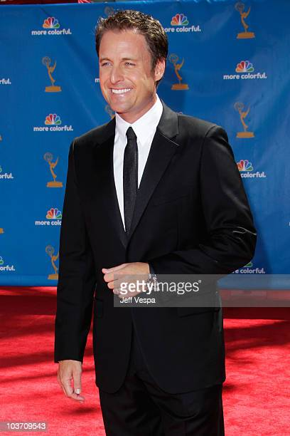 Personality Mark Steines arrives at the 62nd Annual Primetime Emmy Awards held at the Nokia Theatre LA Live on August 29 2010 in Los Angeles...
