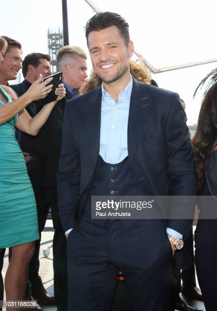 Personality Mark Wright attends the 25th anniversary celebration of Extra at Universal Studios Hollywood on September 10 2018 in Universal City...
