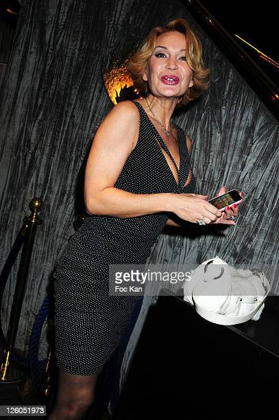TV personality Marlene Mourreau attends the Trophees de La Nuit 2010 Night Clubbing Awards at the Lido on November 29 2010 in Paris France