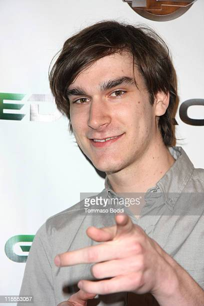 Personality Marston Hefner attends the E3 red carpet launch party held at club Suede on June 7 2011 in Los Angeles California