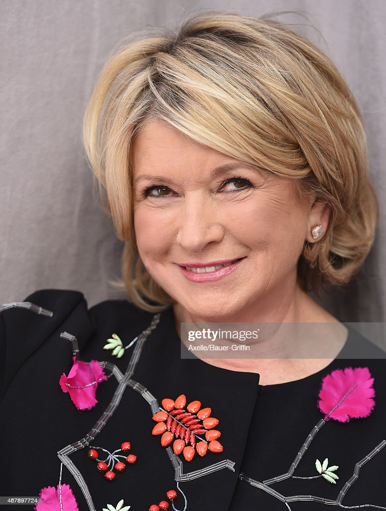 TV personality Martha Stewart arrives at the Comedy Central Roast of Justin Bieber on March 14, 2015 in Los Angeles, California.
