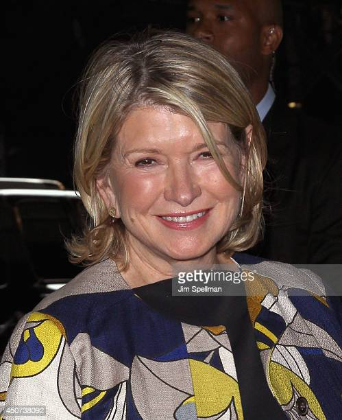 Personality Martha Stewart attends the Yves Saint Laurent Couture Palette The Cinema Society premiere of The Weinstein Company's Yves Saint Laurent...