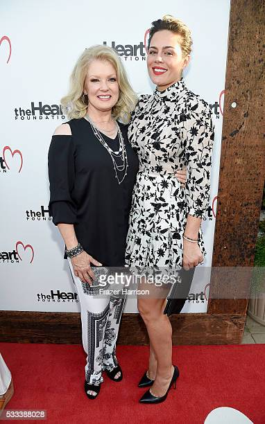 TV personality Mary Hart and Monica Gambee attend The Heart Foundation 20th Anniversary Event honoring Discovery Land Company's Mike Meldman at the...