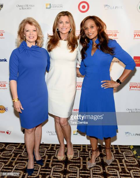 TV Personality Mary Hart YWCA LGA Ambassador/Model Kathy Ireland and Model/Actress Beverly Johnson attend YWCA Greater Los Angeles' Annual Phenomenal...