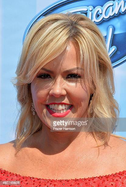 TV personality Mary Murphy attends Fox's American Idol XIII Finale at Nokia Theatre LA Live on May 21 2014 in Los Angeles California