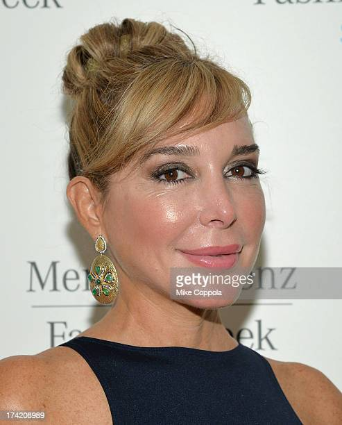 Personality Marysol Patton attends MercedesBenz Fashion Week Swim 2014 at the Raleigh on July 21 2013 in Miami Beach Florida