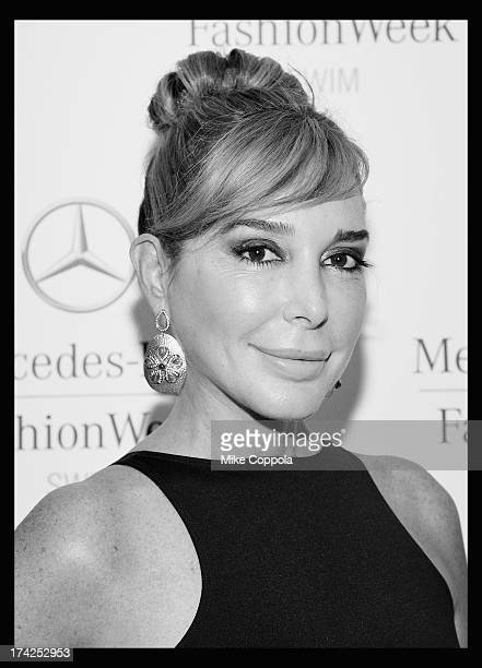 Personality Marysol Patton seen during MercedesBenz Fashion Week Swim 2014 at the Raleigh Hotel on July 21 2013 in Miami Beach Florida