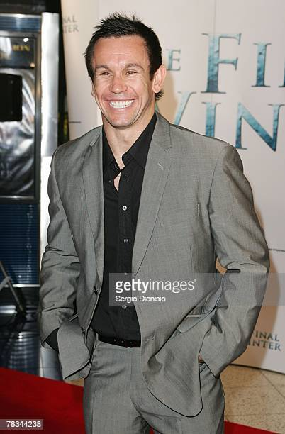 TV personality Matthew Johns attend 'The Final Winter' premiere at the Greater Union George Street Cinema on August 27 2007 in Sydney Australia