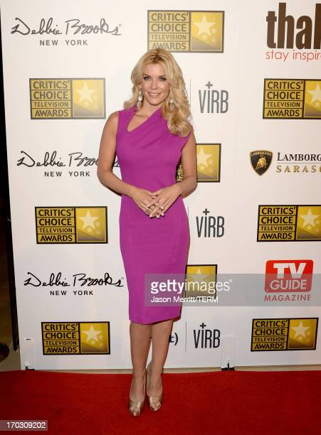 Personality McKenzie Westmore arrives at Broadcast Television Journalists Association's third annual Critics' Choice Television Awards at The Beverly...