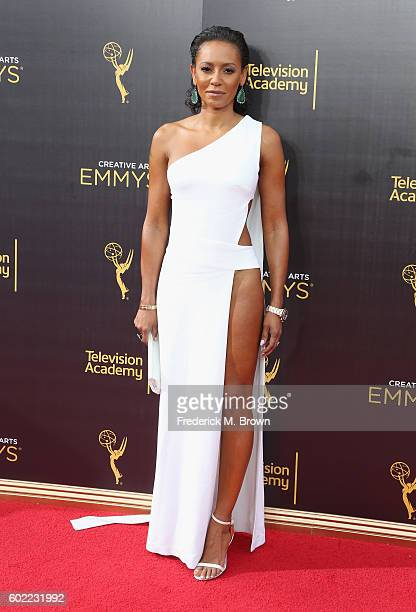 TV personality Mel B attends the 2016 Creative Arts Emmy Awards at Microsoft Theater on September 10 2016 in Los Angeles California