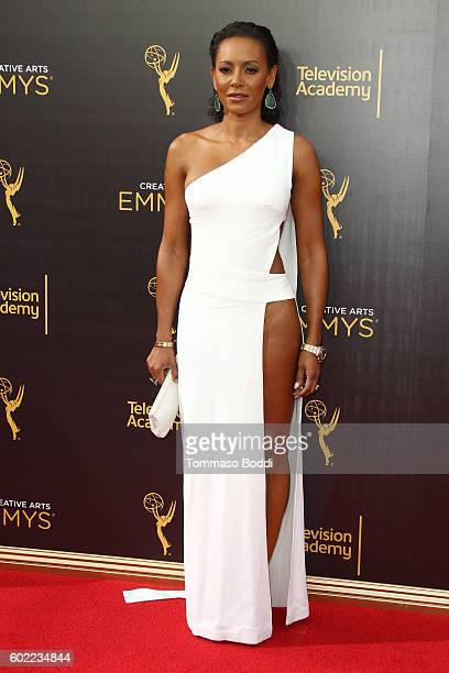 Personality Mel B attends the 2016 Creative Arts Emmy Awards - Day 1 at Microsoft Theater on September 10, 2016 in Los Angeles, California.