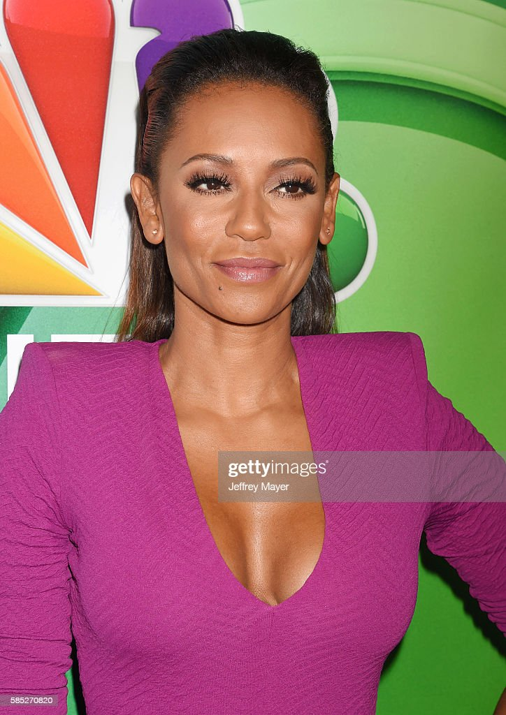 TV personality Mel B attends the 2016 Summer TCA Tour - NBCUniversal Press Tour at the Beverly Hilton Hotel on August 2, 2016 in Beverly Hills, California.