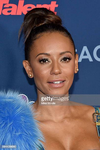 Personality Mel B attends the 'America's Got Talent' Season 11 Live Show at Dolby Theatre on August 23 2016 in Hollywood California
