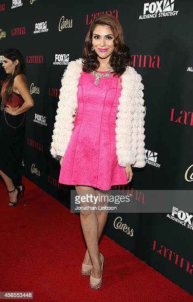 TV personality Melissa Crash Barrera attends Latina Magazine's Hollywood Hot List Party at Sunset Tower on October 2 2014 in West Hollywood California