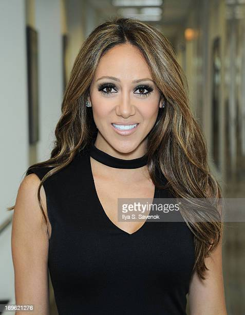 TV personality Melissa Gorga visits the SiriusXM Studios on May 29 2013 in New York City