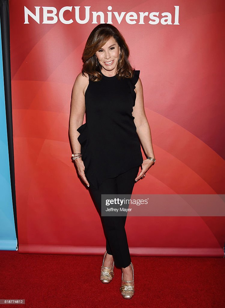 TV personality Melissa Rivers arrives at the 2016 Summer TCA Tour - NBCUniversal Press Tour at the Four Seasons Hotel - Westlake Village on April 1, 2016 in Westlake Village, California.