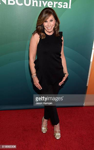 Personality Melissa Rivers attends the 2016 NBCUniversal Summer Press Day at Four Seasons Hotel Westlake Village on April 1, 2016 in Westlake...