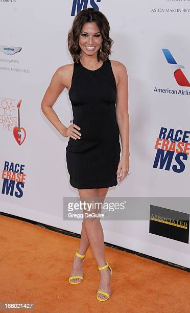 TV personality Melissa Rycroft arrives at the 20th Annual Race To Erase MS Gala 'Love To Erase MS' at the Hyatt Regency Century Plaza on May 3 2013...