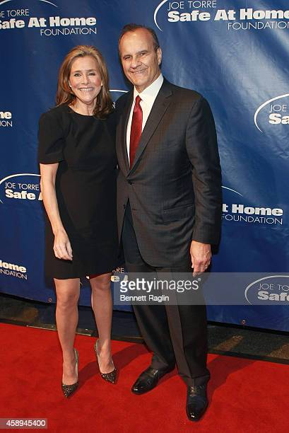 TV personality Meredith Vieira and Joe Torre attend the Safe At Home Foundation's 12th Annual Celebrity Gala at Pier Sixty at Chelsea Piers on...