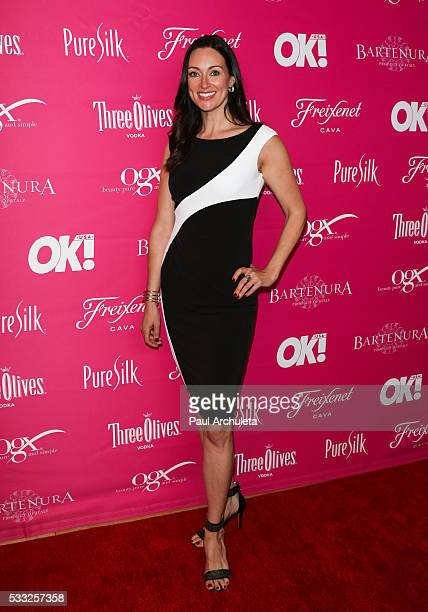 TV Personality Mia Mastroianni attends OK Magazine's So Sexy LA party at SkyBar at the Mondrian Los Angeles on May 18 2016 in West Hollywood...