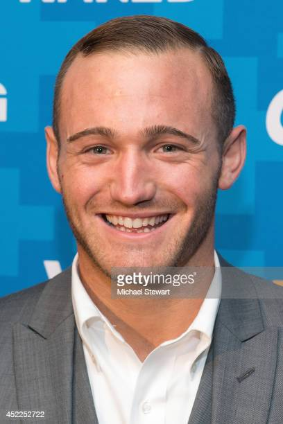 TV personality Michael Nacarri attends the 'Dating Naked' series premiere at Gansevoort Park Avenue on July 16 2014 in New York City