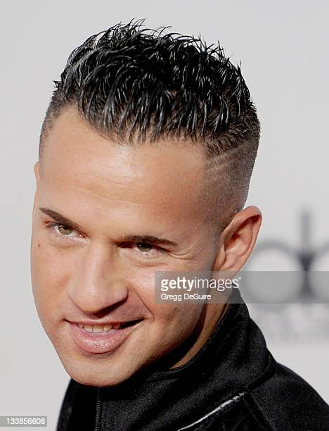 Personality Michael 'The Situation' Sorrentino arrives at the 2011 American Music Awards at Nokia Theatre LA Live on November 20 2011 in Los Angeles...