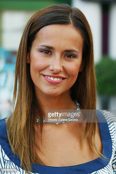 TV personality Michela Coppa attends the first day of the 2009 Giffoni Film Festival on July 12 2009 in Salerno Italy