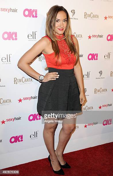 TV personality Michelle Joy Phelps attends OK Magazine's So Sexy LA Event at LURE on May 21 2014 in Los Angeles California
