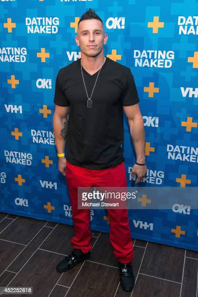 TV personality Mikey P attends the 'Dating Naked' series premiere at Gansevoort Park Avenue on July 16 2014 in New York City