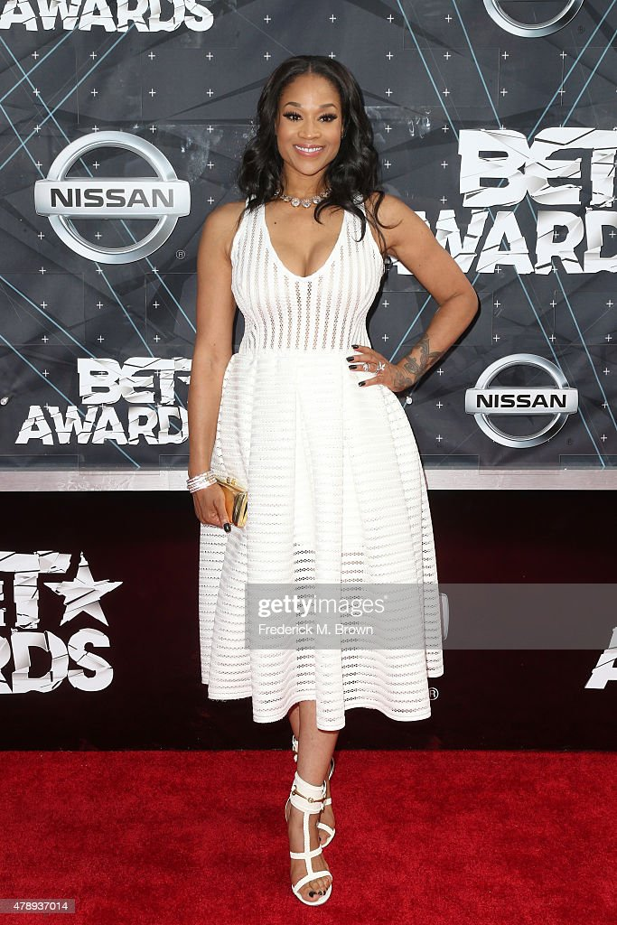 TV personality Mimi Faust attends the 2015 BET Awards at the Microsoft Theater on June 28, 2015 in Los Angeles, California.