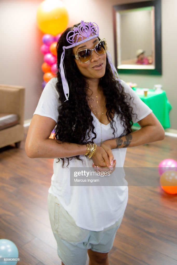 TV personality Mimi Faust hosts back to school bash to benefit Boys and Girls Club of Atlanta on August 19, 2017 in Atlanta, Georgia.