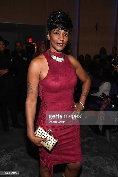 TV personality Momma Dee attends Ink Paper Scissors Atlanta screening at Riverside Epicenter on October 11 2016 in Austell Georgia