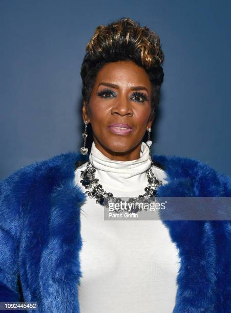 TV personality Momma Dee attends Pimp Atlanta Screening at Midtown Art Cinema Theatre on January 10 2019 in Atlanta Georgia