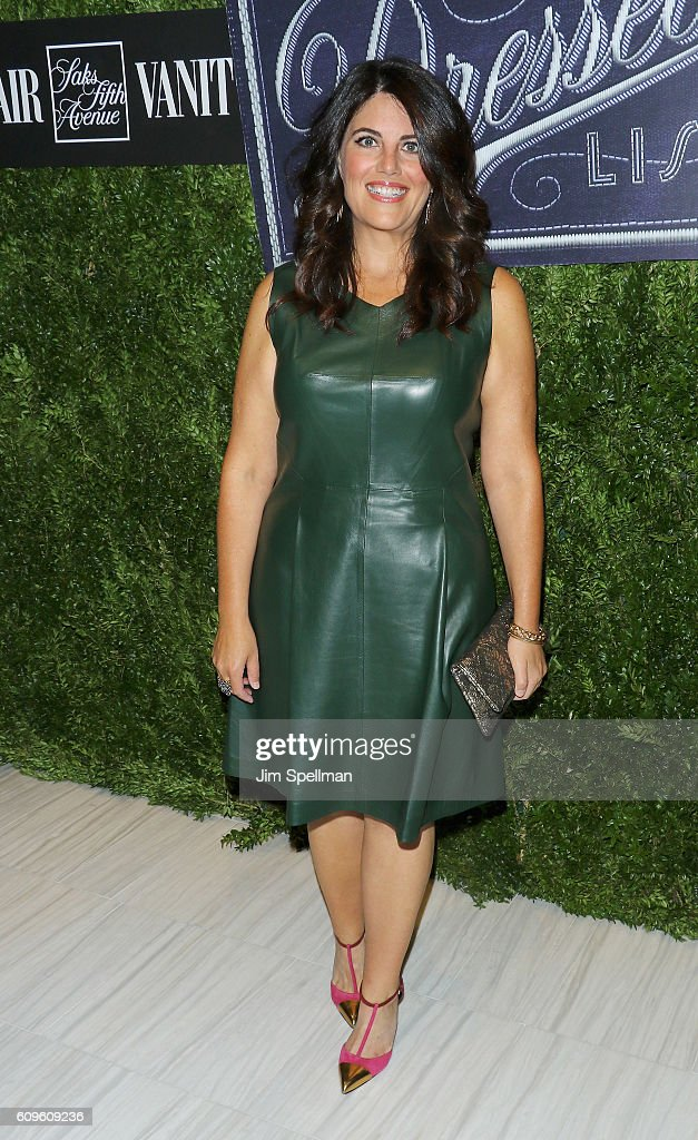 TV Personality Monica Lewinsky Attends The 2016 Vanity Fair International  Best Dressed List At Saks Fifth