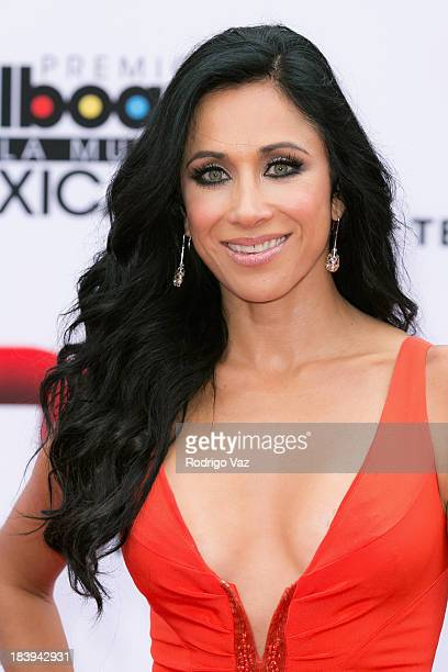 TV personality Monica Noguera attends the 2013 Billboard Mexican Music Awards arrivals at Dolby Theatre on October 9 2013 in Hollywood California
