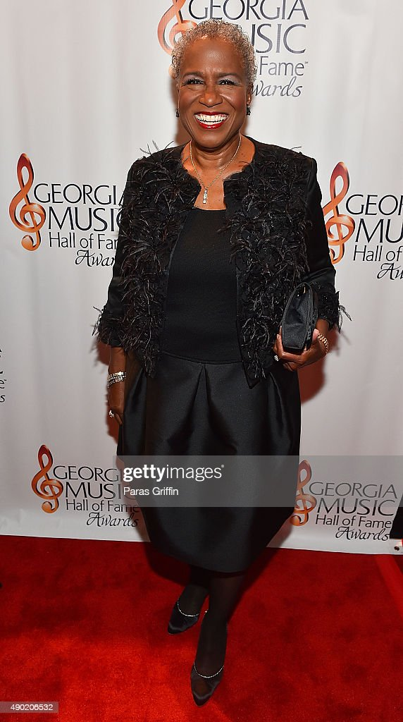 TV personality Monica Pearson attends 2015 Georgia Music Hall Of Fame Awards at Georgia World Congress Center on September 26, 2015 in Atlanta, Georgia.