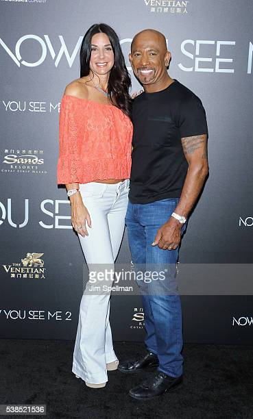 TV personality Montel Williams and wife Tara Fowler attend the Now You See Me 2 world premiere at AMC Loews Lincoln Square 13 theater on June 6 2016...