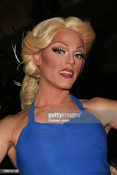 TV personality Morgan McMichaels attends Rupaul's Drag Race season 5 premiere party at The Abbey on January 22 2013 in West Hollywood California
