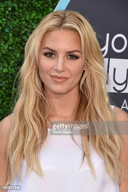 TV personality Morgan Stewart attends the 2014 Young Hollywood Awards brought to you by Samsung Galaxy at The Wiltern on July 27 2014 in Los Angeles...